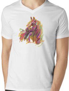 Cool T shirt  Horse  true colors Mens V-Neck T-Shirt