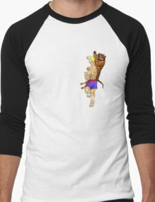 Tiger Uppercut Men's Baseball ¾ T-Shirt
