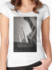 Nicely Stacked Women's Fitted Scoop T-Shirt