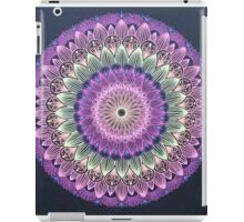 Colorful Flower Line Mandala iPad Case/Skin