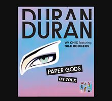 Duran Duran Paper Gods On Tour Cover Unisex T-Shirt