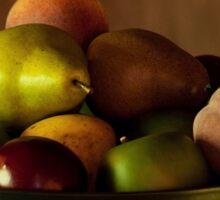 Precious Fruit Bowl Sticker