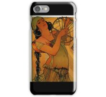 'Solome' by Alphonse Mucha (Reproduction) iPhone Case/Skin