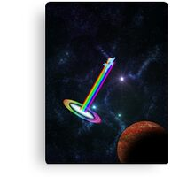 Sonic Spaceboom Canvas Print