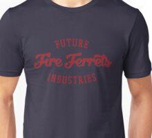 Future Industries' Fire Ferrets (Red) Unisex T-Shirt