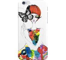 WaterColor Fashion iPhone Case/Skin