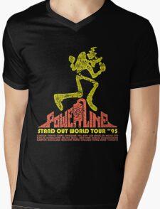 powerline Mens V-Neck T-Shirt