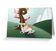 Okami Greeting Card