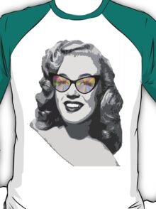 Marilyn Monroe in color glasses T-Shirt