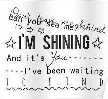 shining - years & years Poster