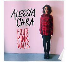 alessia cara four pink walls album covers ampyang Poster