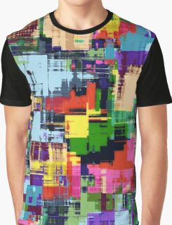 Abstract Colour Adventure Graphic T-Shirt