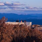 Sir Joseph Cook Boardwalk, Hassans Walls Lookout Lithgow by Deborah McGrath