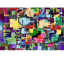 Abstract Colour Adventure Photographic Print