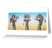 The Rainbow  Tribe Greeting Card