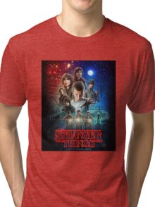 The Stranger Things Poster Tri-blend T-Shirt