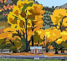Arrowtown Gold by Ira Mitchell-Kirk