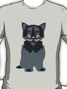 Cat In Black T-Shirt