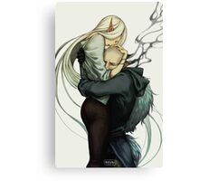 To love the sinner Canvas Print
