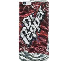 Crushed Dr Pepper Tin iPhone Case/Skin
