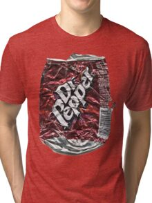 Crushed Dr Pepper Tin Tri-blend T-Shirt