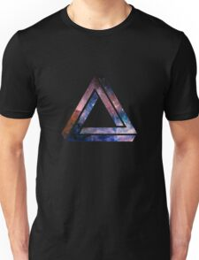 Paradoxical space triangle Unisex T-Shirt