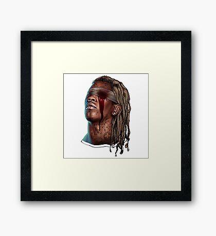 Young Thug - Slim Season Framed Print