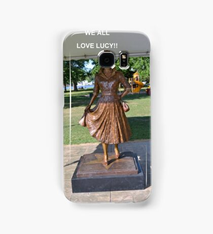 Lucille Ball Statue. Samsung Galaxy Case/Skin