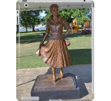 Lucille Ball Statue. iPad Case/Skin