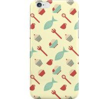 Food seamless pattern iPhone Case/Skin