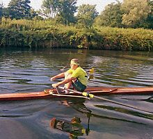 Norwich Canoe at Whitlingham by SaraHardman