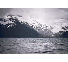 Garibaldi Lake & Cloudy Moutains Photographic Print