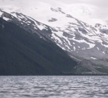 Garibaldi Lake & Cloudy Moutains Sticker