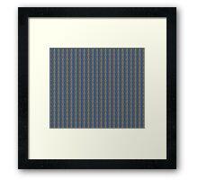 Vector Chain Art - 033 Framed Print