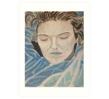 Laura Palmer, The Mermaid Art Print