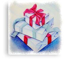 CHRISTMAS PRESENTS Canvas Print