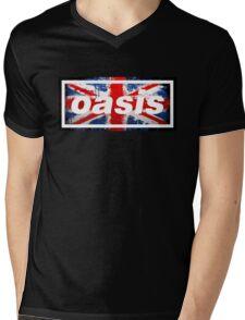 oasis england Mens V-Neck T-Shirt