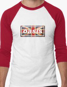 oasis england Men's Baseball ¾ T-Shirt