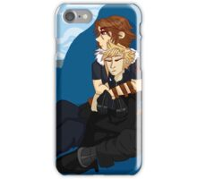 Sitting Behind the Castle iPhone Case/Skin