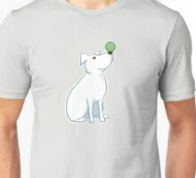 circus pup | american staffordshire terrier bully breed pit bull no bsl balance yoga zen cute animal pet Unisex T-Shirt