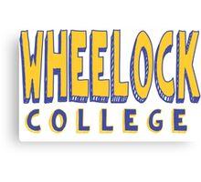 Wheelock College Canvas Print