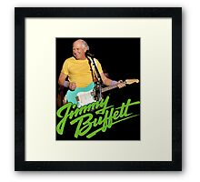 SAN01 Jimmy Buffett and the Coral Reefer Band TOUR 2016 Framed Print