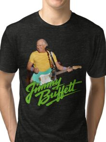 SAN01 Jimmy Buffett and the Coral Reefer Band TOUR 2016 Tri-blend T-Shirt