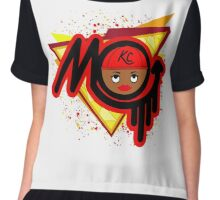 KCMO emoji Female Chiffon Top