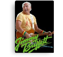 SAN02 Jimmy Buffett and the Coral Reefer Band TOUR 2016 Canvas Print