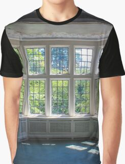 Coe Hall Historic House Museum - Window Detail | Upper Brookville, New York Graphic T-Shirt
