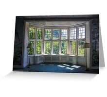 Coe Hall Historic House Museum - Window Detail | Upper Brookville, New York Greeting Card