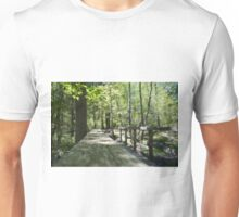 Path goes ever on... Unisex T-Shirt