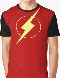 Simplistic Flash Graphic T-Shirt