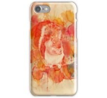 Waterolor Squirrel iPhone Case/Skin